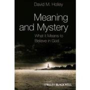 meaning and mystery,what it means to believe in god - david m. holley - blackwell pub