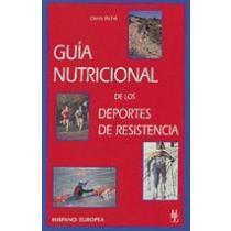 portada guía nutricional de los deportes de resistencia