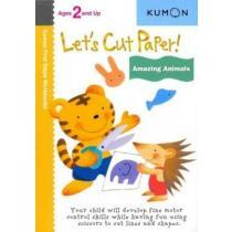 portada let`s cut paper! amazing animals,ages 3 and up