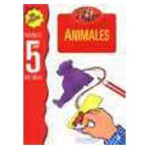 portada animales con stickers