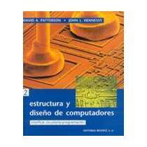 portada Estructura y diseño de computadores. (1ed) Volumen 2