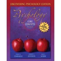 portada psychology,core concepts: discovering psychology edition