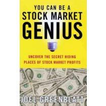 portada you can be a stock market genius,uncover the secret hiding places of stock market profits