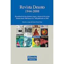 portada revista deusto 1944-2008