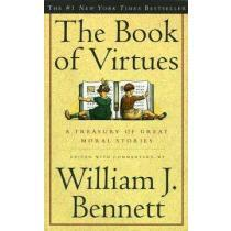 portada the book of virtues,a treasury of great moral stories