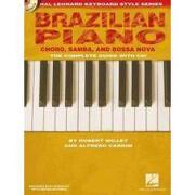 brazilian piano - choro, samba, and bossa nova - robert willey - hal leonard corp