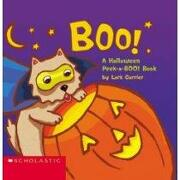 boo!,a halloween peek-a-boo! book - lark carrier - scholastic