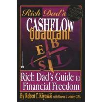 portada rich dad´s cashflow quadrant,rich dad´s guide to financial freedom