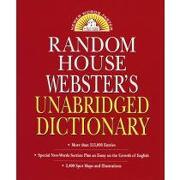 random house websters unabridged dictionary -  - random house mondadori