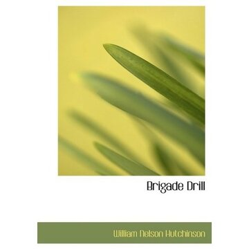 portada brigade drill (large print edition)