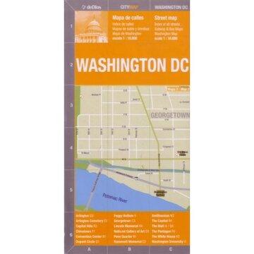 portada mapa coleccion:washington dc