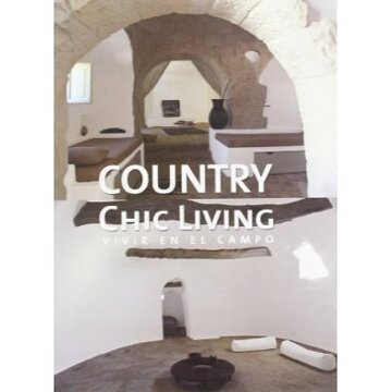 portada country chic living. vivir en el campo