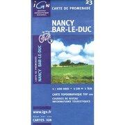 nancy/bar le duc -  - institut geographique national,fran