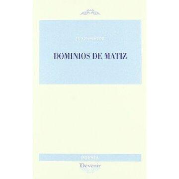 portada Dominios de matiz (Poesia (devenir))