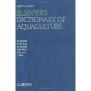 elsevier dictionary of aquaculture - max - elsevier science(tecnico)
