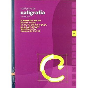 portada Cuaderno de caligrafia 5 Cuadricula (Primaria)