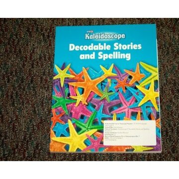 portada kaleidoscope decodable stories spelling