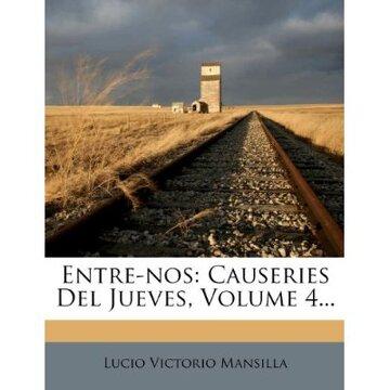portada entre-nos: causeries del jueves, volume 4...