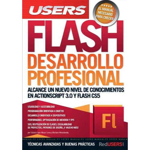 Flash desarrollo profesional; users