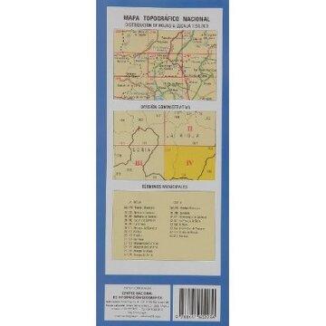 portada (279-4) mapa topografico lomos de orio (1:25.000)