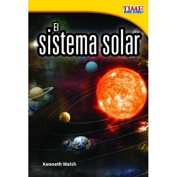 portada time for kids: el sistema solar (the solar system)