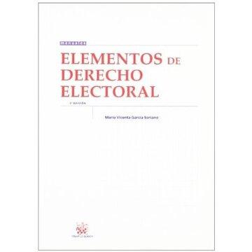 portada Elementos de Derecho Electoral