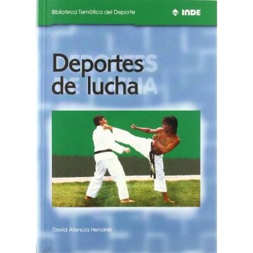 portada Deportes de lucha (Biblioteca Temática del Deporte)