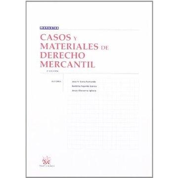 portada casos y materiales de derecho mercantil