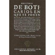 directorio de boticarios - francisco de ortega - padilla libros
