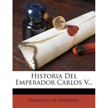 portada historia del emperador carlos v...