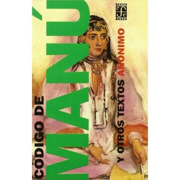 portada Codigo de Manu y Otros Textos (Fondo 2000) (Spanish Edition)