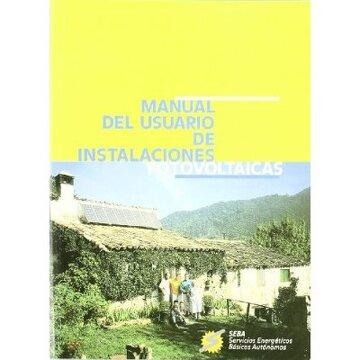 portada manual del usuario de instalaciones fotovoltaicas