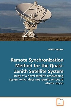 portada remote synchronization method for the quasi-zenith satellite system