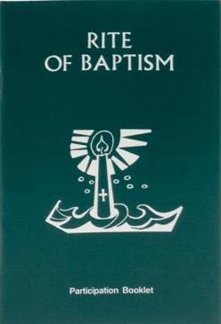 portada rite of baptism booklet