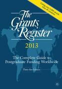 The Grants Register 2013 - Palgrave Macmillan (COR) - Palgrave Macmillan