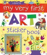 My Very First Art Sticker Book - Dickins, Rosie - Usborne Books