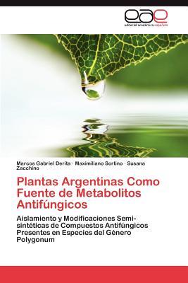 Plantas argentinas como fuente de metabolitos antif ngicos; marcos gabriel derita