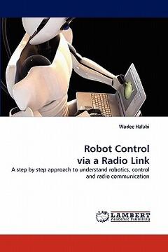 portada robot control via a radio link