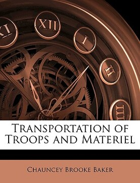 portada transportation of troops and materiel
