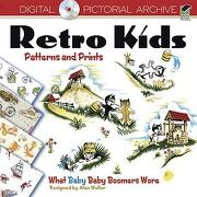 retro kids patterns and prints - dover publications (cor) - dover pubns