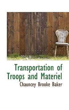 portada transportation of troops and materiel