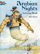 arabian nights  book - john green - dover pubns
