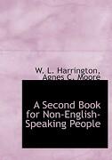 second book for non-english-speaking people (large print edition) - agnes c. moore w. l. harrington - bibliobazaar