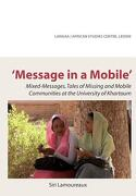 message in a mobile - siri lamoureaux - african books collective