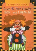 Junie B., First Grader Boo... and I Mean It! - Park, Barbara - Perfection Learning