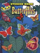 Butterflies Sticker Book [With 3-D Glasses] - Dover Publications Inc - Dover Publications