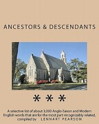 Ancestors and Descendants - Pearson, Lennart - Createspace