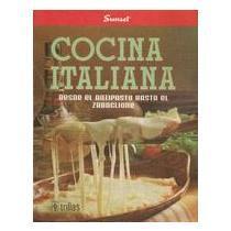 portada cocina italiana. desde el antipasto