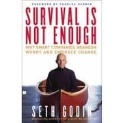 survival is not enough,why smart companies abandon worry and embrace change - seth godin - simon & schuster