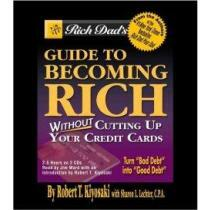 portada rich dad´s guide to becoming rich without cutting up your credit cards